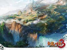 《天龙八部3》桌面壁纸