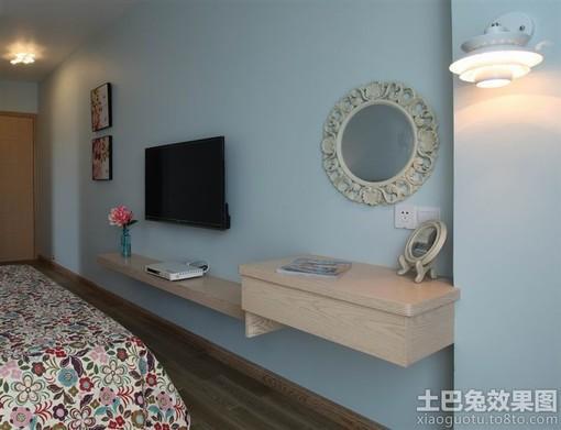 简单卧室电视背景墙装修效果图大全2013图片