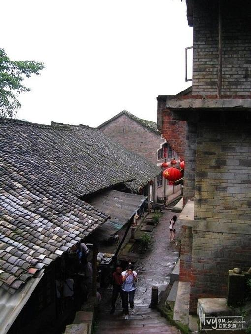 烟雨柳江---四川柳江古镇_旅行画册_百度旅游