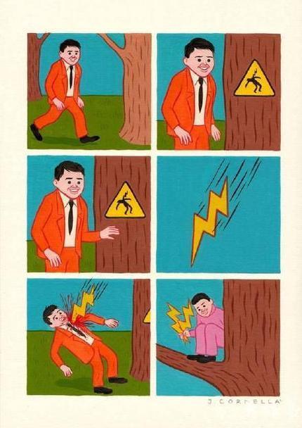 注意闪电,实体的那种